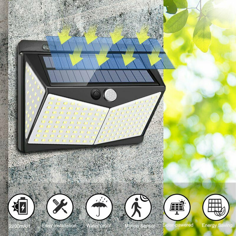 ULTRA Solar-Powered Motion Sensor Light - Super Bright, No Wiring Needed, Easy Installations.