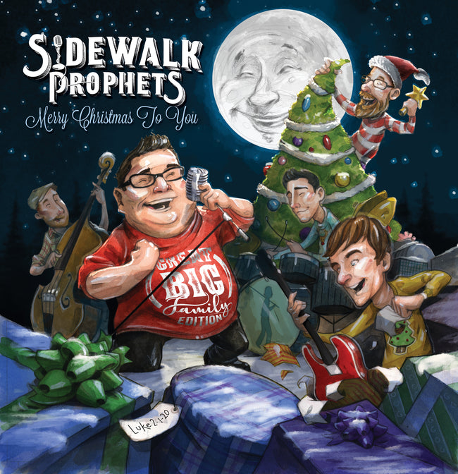 Sidewalk Prophets - Merry Christmas to You - Album Cover