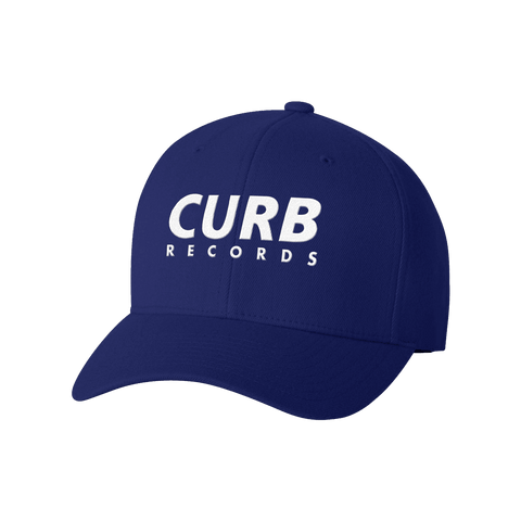 Curb Records Royal Blue Hat