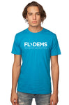 Florida Democrats Signature Unisex T-Shirt Scuba Blue