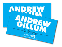 Andrew Gillum Bumper Sticker - Blue