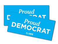 Proud Democrat Bumper Sticker