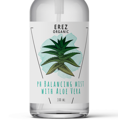pH Balancing Mist with Aloe Vera by EREZ Organic