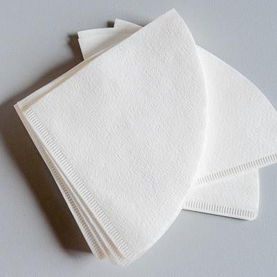 HARIO V60 WHITE PAPER FILTERS (02, 1-4 CUPS) - 100 SHEETS
