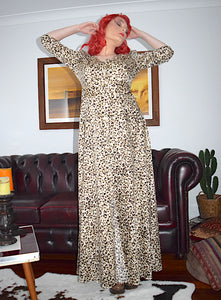 Cheetah Gown