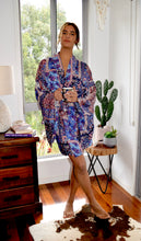 Load image into Gallery viewer, Paisley Patch Kimono
