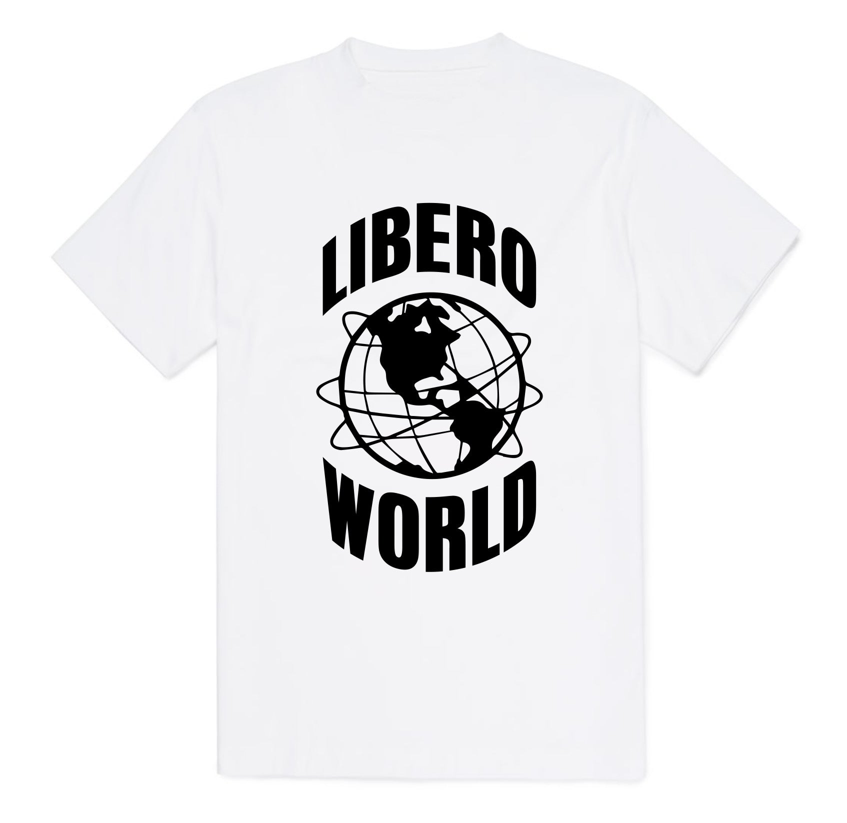 White Libero Graphic