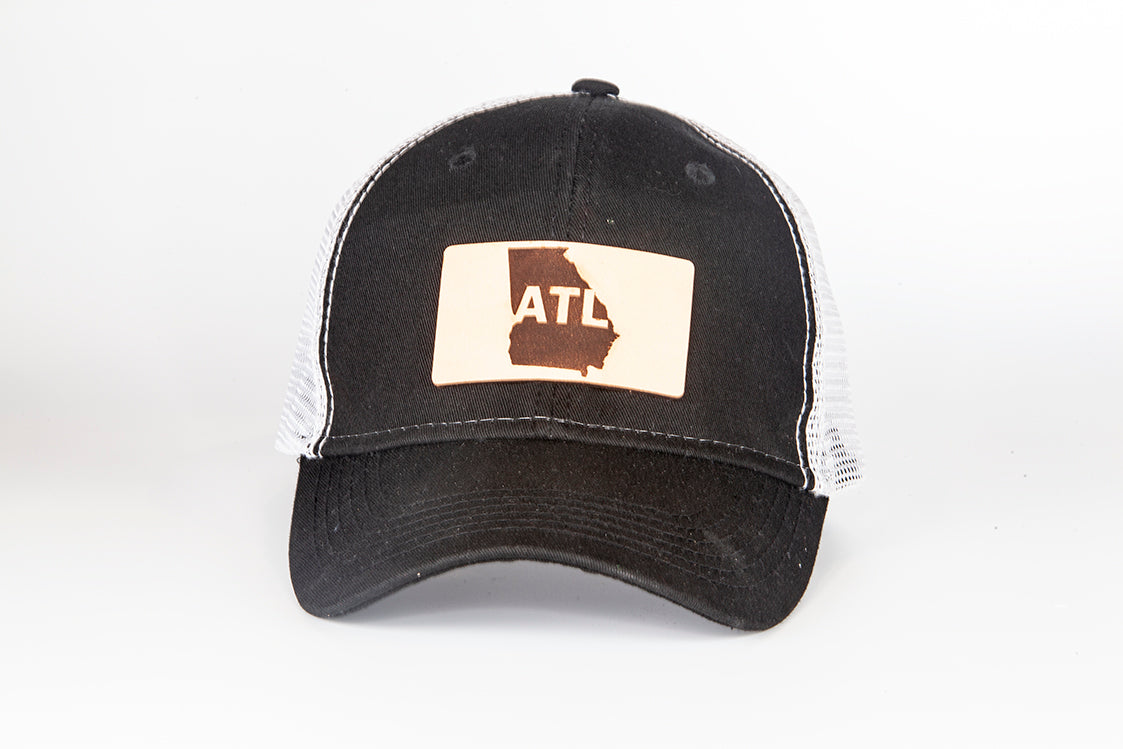 f21c705f2db ATL Atlanta Georgia Trucker hat