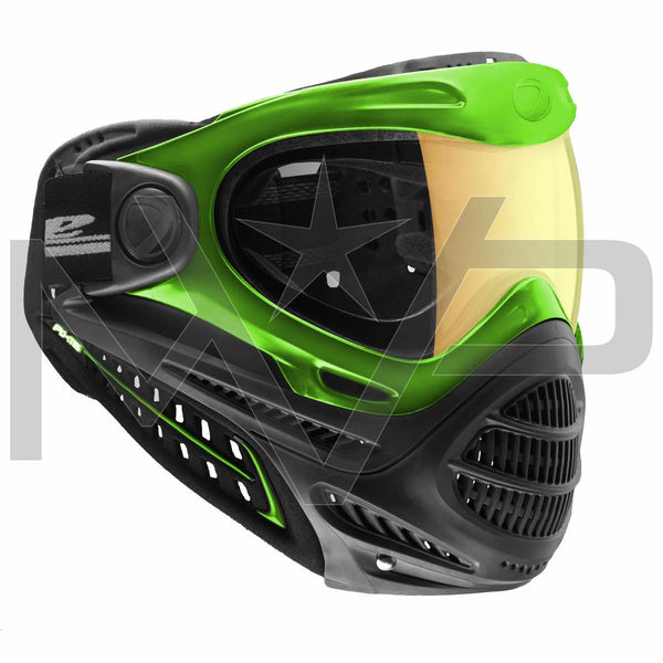 DYE Axis Thermal Paintball Mask - Green Northern Lights