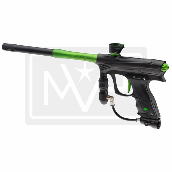 DYE Rize Maxxed Paintball Gun - Black w/ Lime