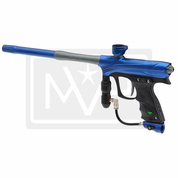 DYE Rize Maxxed Paintball Gun - Blue w/ Grey
