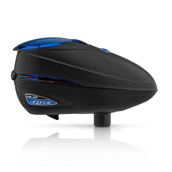 DYE Rotor R2 Electric Paintball Loader - Black ICE
