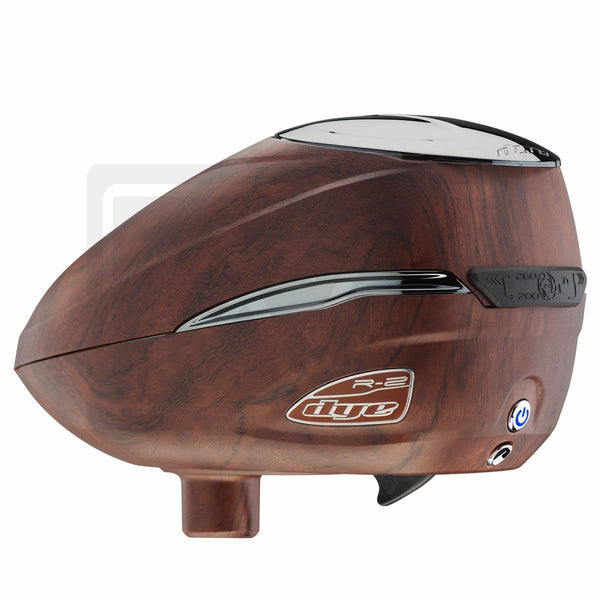 DYE Roto R2 Electric Paintball Loader - Woody