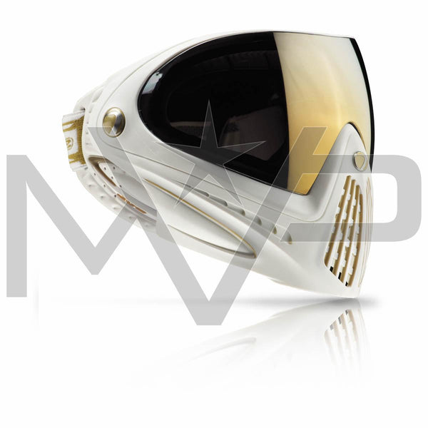 DYE i4 Paintball Mask - White Gold