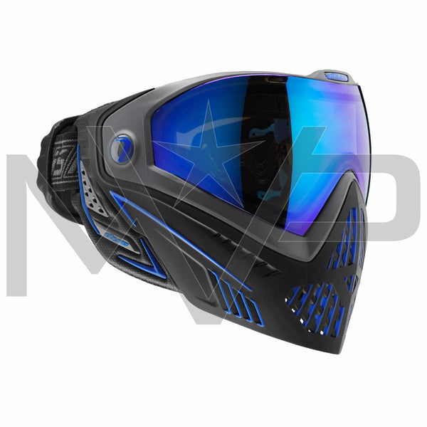 DYE i5 Paintball Mask - Black/Blue