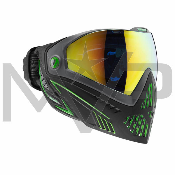 DYE i5 Paintball Mask - Black/Lime