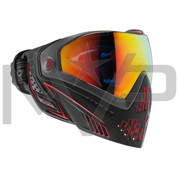 DYE i5 Paintball Mask - Black/Red