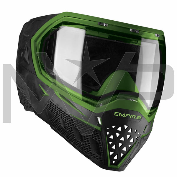 Empire EVS Thermal Paintball Mask - Black w/ Lime