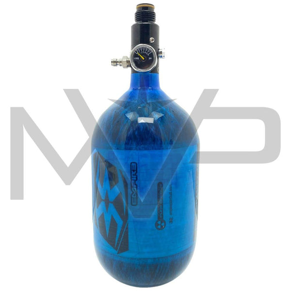 Empire MEGA Lite Carbon compressed Air HPA Tank - 68ci / 4500psi Exclusive Blue