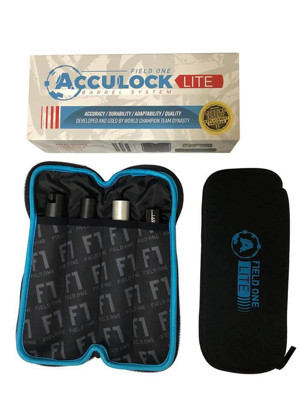 F1 Acculock Barrel Kit - Gloss Black