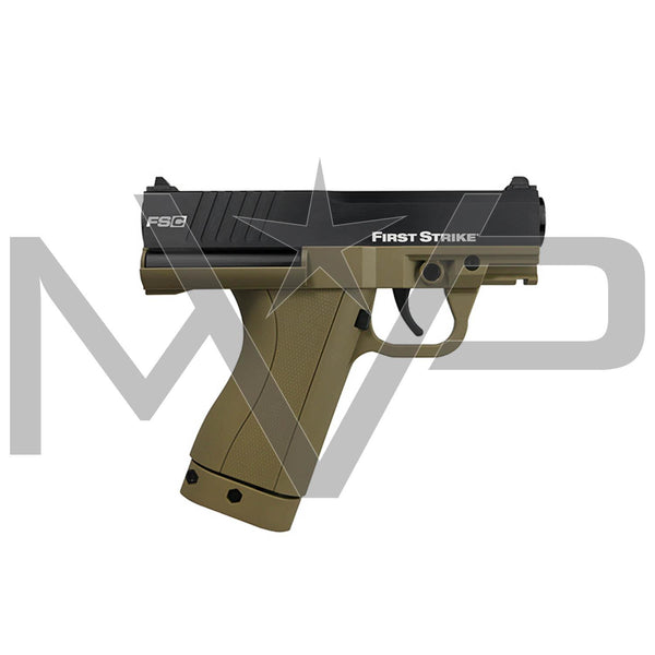 First Strike FSC Paintball Pistol Paintball Gun - Tan