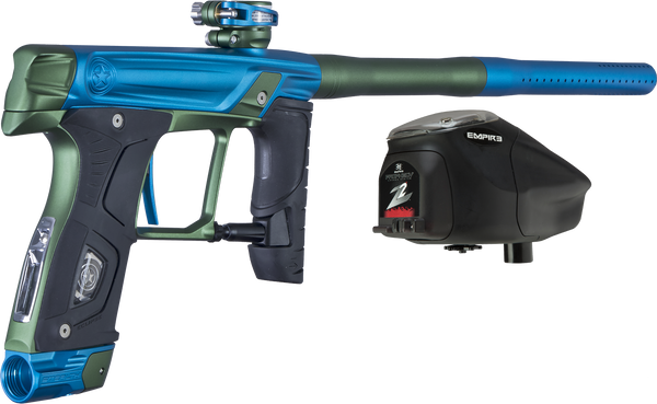 GI Sportz Sealth Paintball Gun - Electric Blue w/ Green