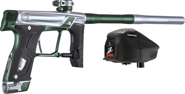 GI Sportz Sealth Paintball Gun -Silver w/ Green