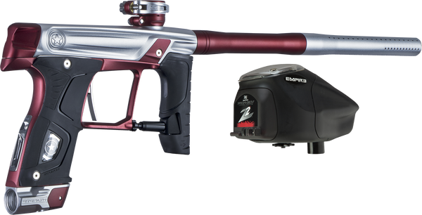 GI Sportz Sealth Paintball Gun - Silver w/ Red