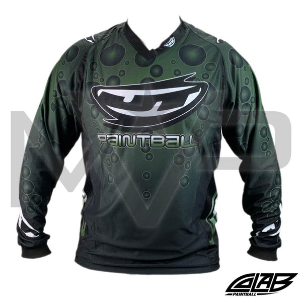 JT Throwback Bubble Jersey - Olive X-Large