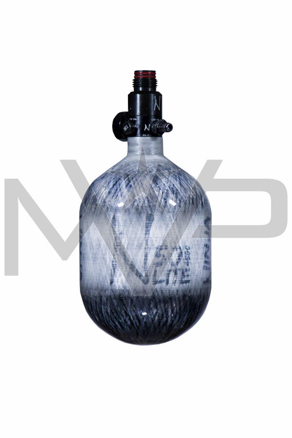 Ninja Lite 50 ci / 4500psi Carbon Paintball Air Tank - Grey