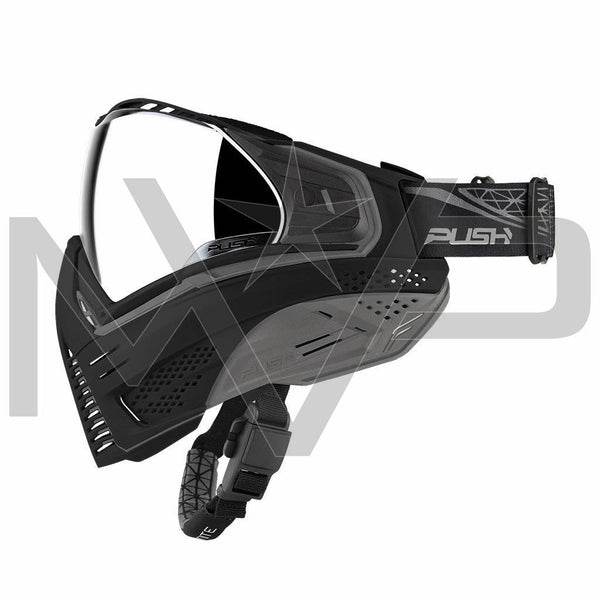 PUSH Unite Paintball Mask - Black/Grey