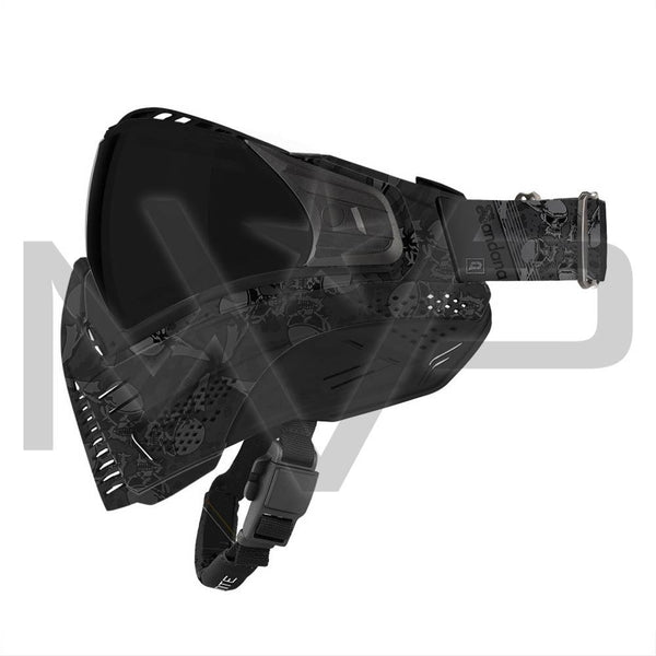 PUSH Unite Paintball Mask - Black Sandana