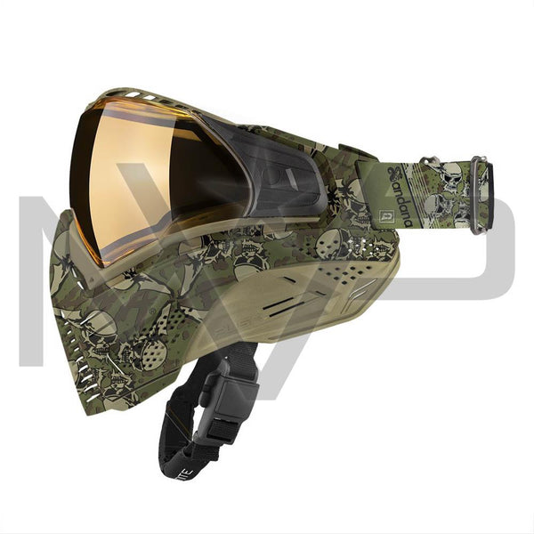 PUSH Unite Paintball Mask - Olive Sandana