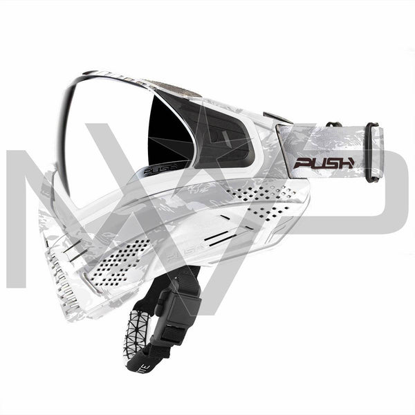 PUSH Unite Paintball Mask - White Camo