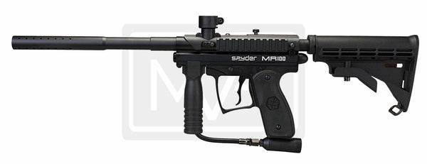 Spyder MR100pro Paintball Gun - Black
