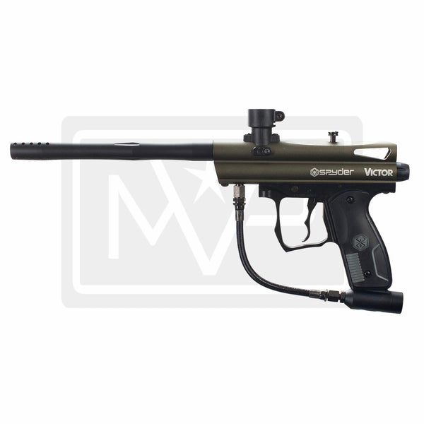 Spyder Victor Paintball Gun - Olive Green