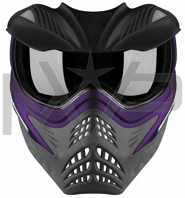 V-Force Grill Thermal Paintball Mask - Purple / Grey