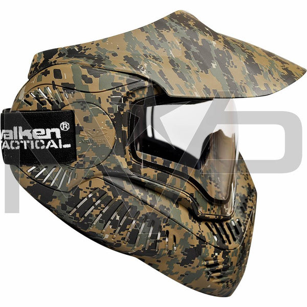 Valken MI-7 Thermal Paintball Mask - Marpat Camo
