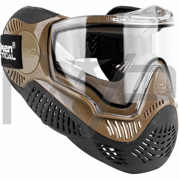 Valken MI-9 Thermal Paintball Mask - Tan