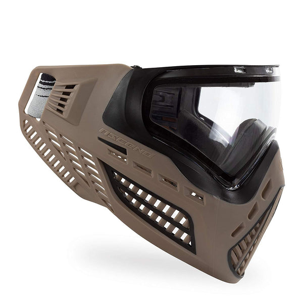 Virtue Vio Ascend Paintball Mask - FDE Clear Lens