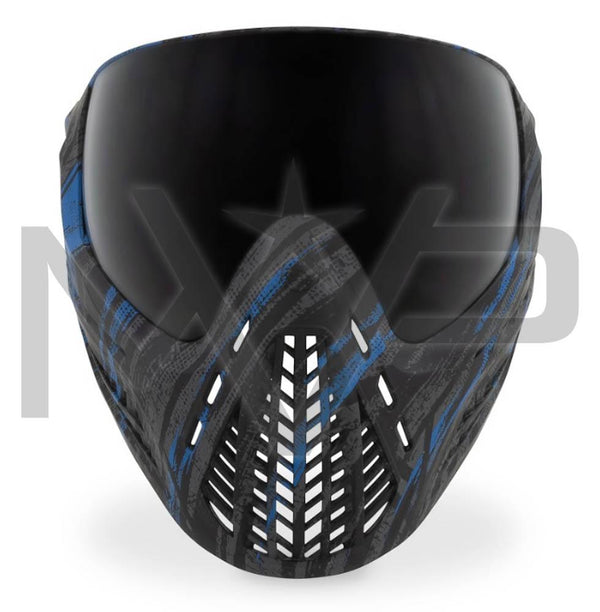 Virtue Vio Ascend Paintball Mask - Graphic Cyan