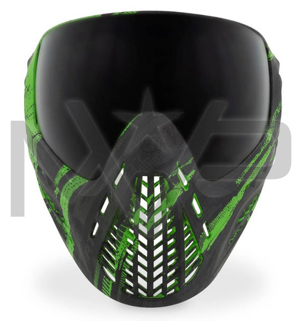 Virtue Vio Ascend Paintball Mask - Graphic Lime