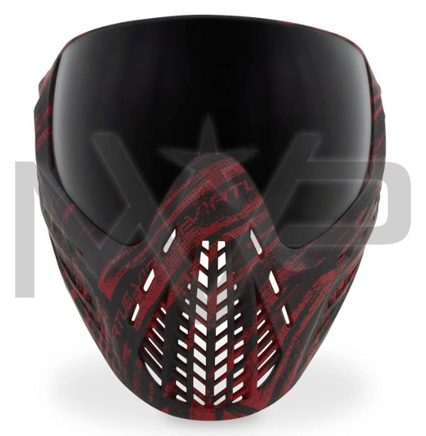 Virtue Vio Ascend Paintball Mask - Graphic Red