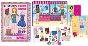 Girl Magnetic Fun Tin Assortment - Code: MAG-GIRL