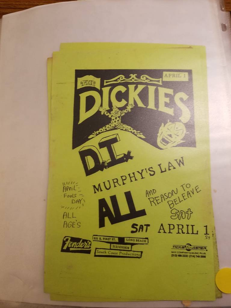 $10 PUNK FLYER - DICKIES DI ALL