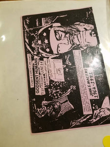 $10 PUNK FLYER - GODSENT HUMANS