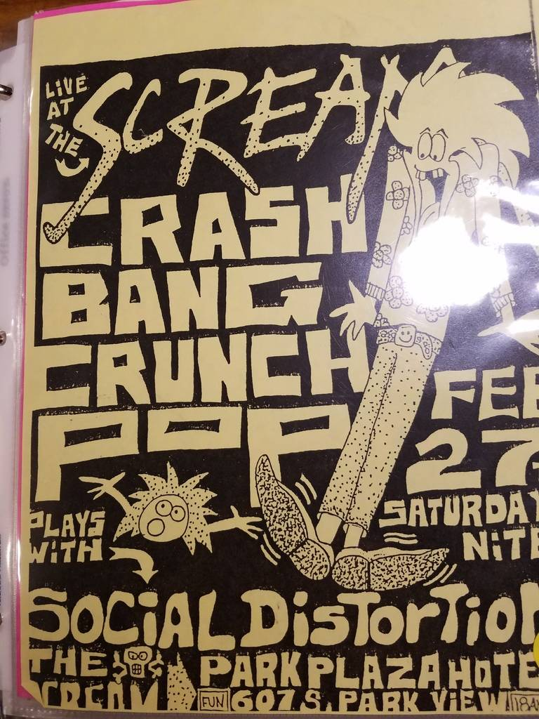$10 PUNK FLYER - SOCIAL DISTORTION