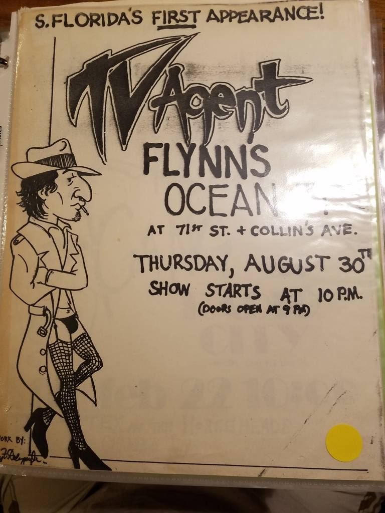 $10 PUNK FLYER - TV AGENT FLYNN'S OCEAN