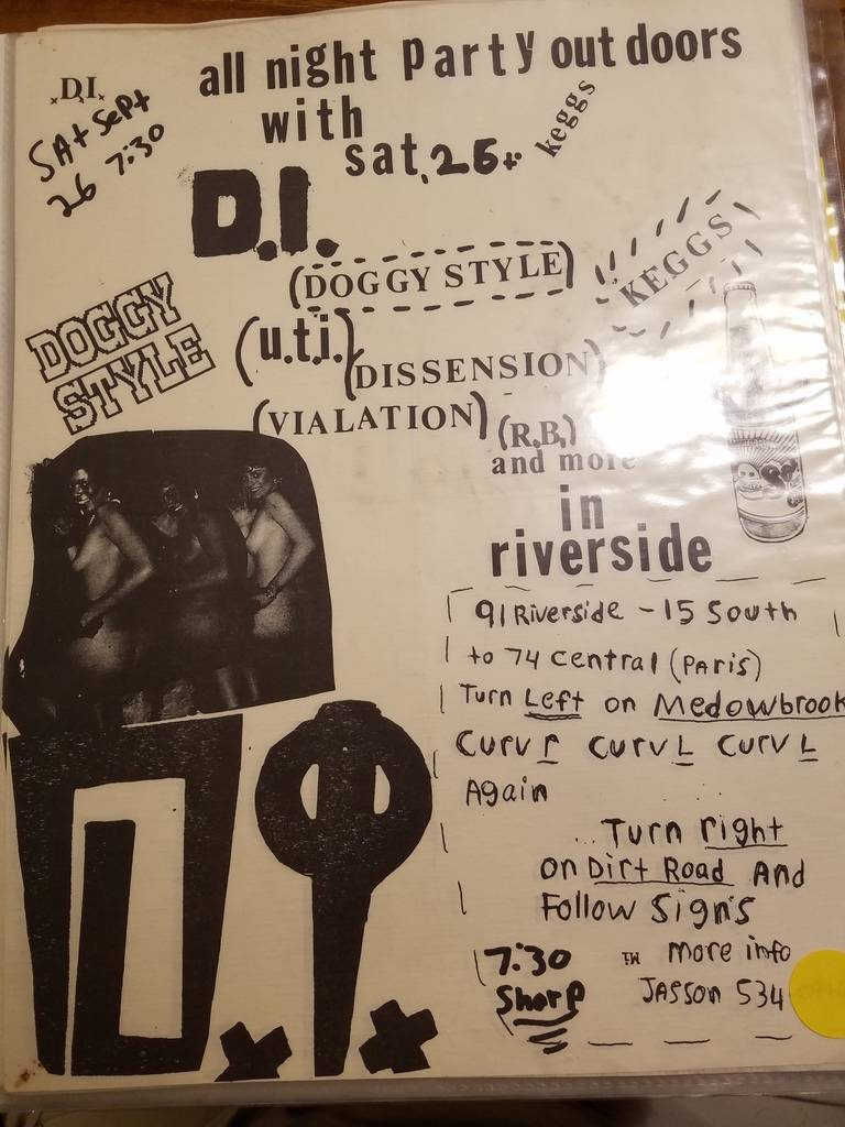 $10 PUNK FLYER - D.I. DI DOGGY STYLE DISSENSION