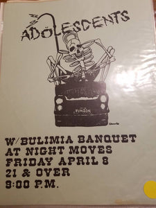 $10 PUNK FLYER - ADOLESCENTS